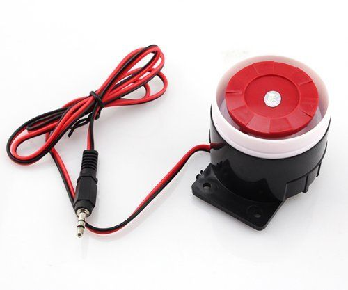 Sirena pequeña de seguridad para el hogar, sistema de alarma, claxon, sirena 120 dB, 12 V #Sirena #pequeña #seguridad #para #hogar, #sistema #alarma, #claxon, #sirena
