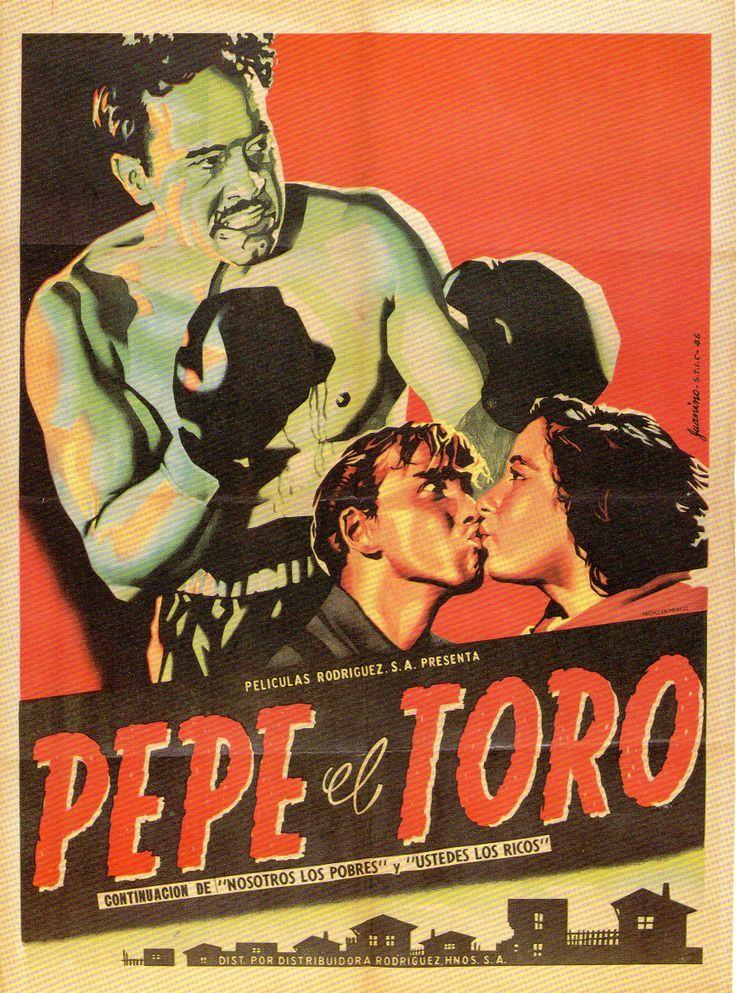 """Poster de """"Pepe el Toro"""" (1952), con Pedro Infante."""