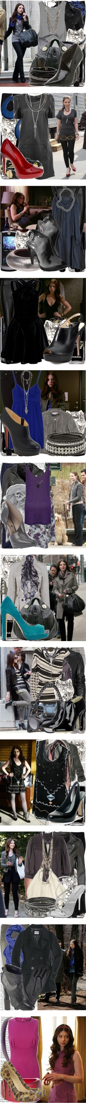 """georgina sparks."" by valerieking ❤ liked on Polyvore"