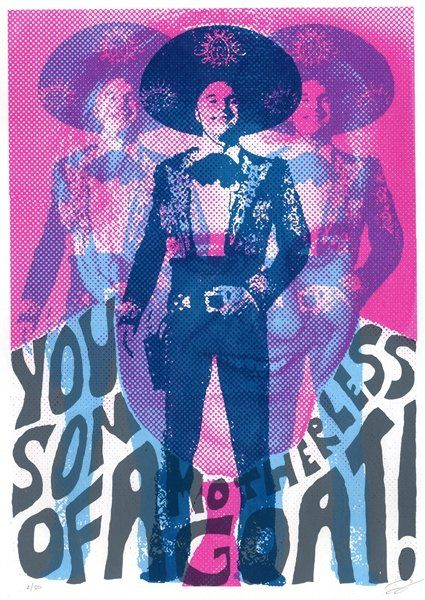 Steve Martin from The Three Amigos illustrated by Darren JohnsonAmigos Illustration, Steve Martin, Invisible Swordsman, Via Ghosts Town Nets, Three Amigos, By Darren Johnson, Motherless Goats, Illustration By Darren, Movie