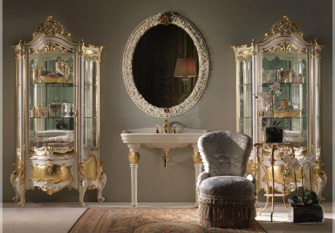 Мебель для ванной Jumbo collection в стиле барокко