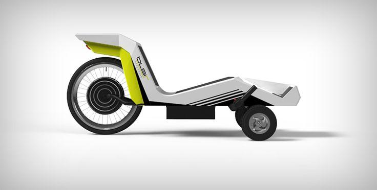 Blair Bodyskate - Motorized Skateboard with Comfort