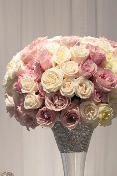 150 best Pink & Silver Wedding Decor images on Pinterest | Wedding ...
