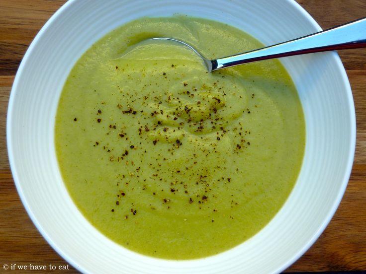 Thermomix Broccoli and Potato Soup