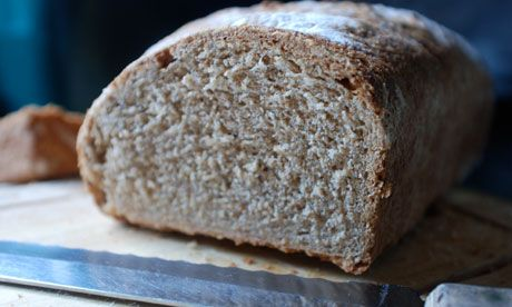 Dan Lepard's recipe wholemeal bread with added butter. Photograph: Felicity Cloake