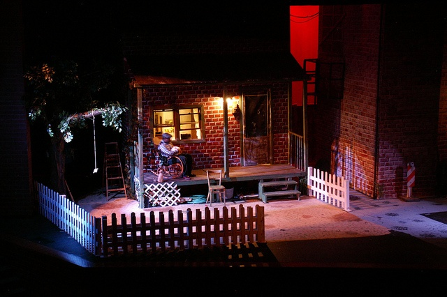 fences by wilson set designs for the stage that worked  fences by wilson set designs for the stage that worked out well wilson