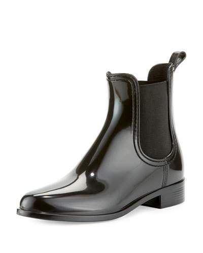 Tinsley Chelsea Rain Boot, Black