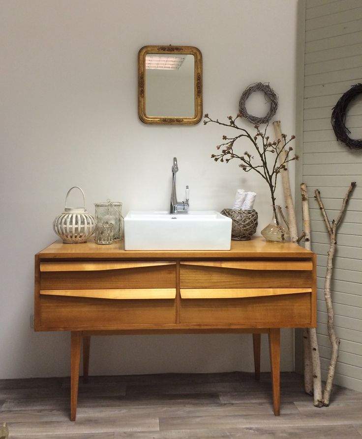 25+ ide terbaik tentang Badezimmer 50er di Pinterest Badezimmer - badezimmer 50er jahre
