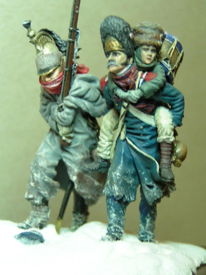 Retreat from Russia 1812, 54 mm Andrea miniatures | Hobby Ancient