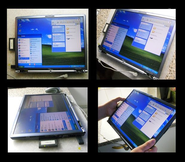 How to make a tablet pc from an old laptop