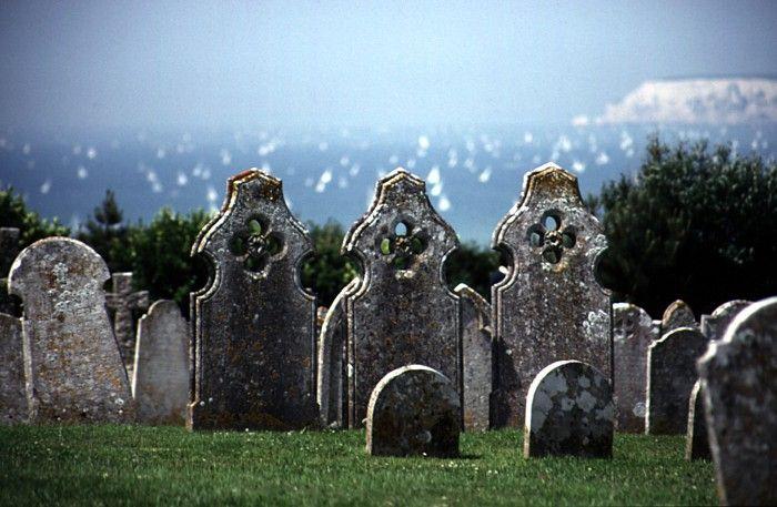 Isle of Wight Graveyard by Debbie Stott | onemillionphotographers