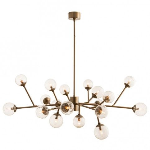 The well appointed house arteriors dallas chandelier transitional lightingmodern