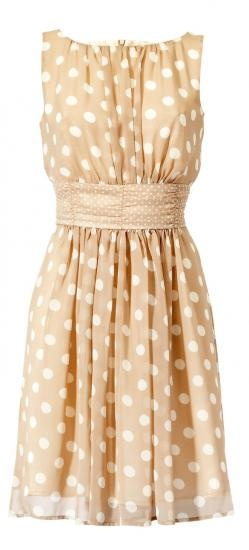 polka dots dress♥✤ | Keep the Glamour | BeStayBeautiful