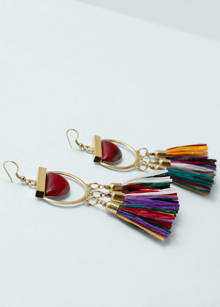 Tassel earrings - Jewellery for Women | MANGO USA