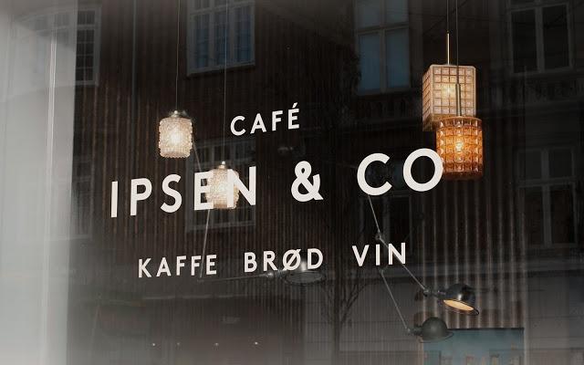 Window signage simplicity. Coffee. Bread. Wine.