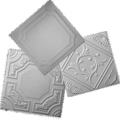R 24 Styrofoam Ceiling Tile has been one of the most popular ceiling tile because of its classic clean look. Decorative Ceiling Tiles.com