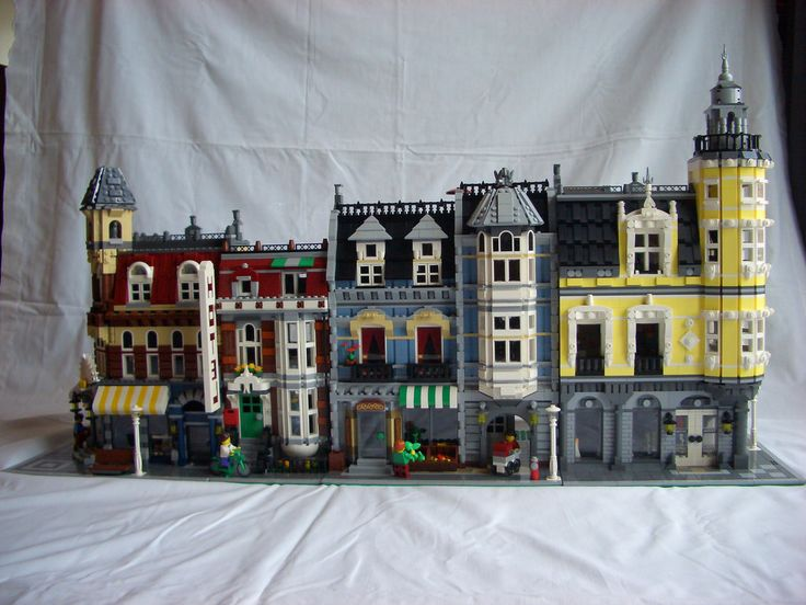 The 25+ best Lego green grocer ideas on Pinterest | Lego modular ...