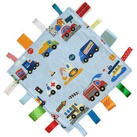 Neue, handgemachte Sicherheitsdecke Steppdecke von Dotty Fish. Hergestellt in England. Auto design. von Dotty Fish.