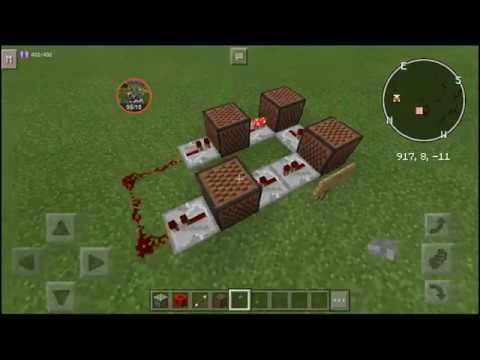 Minecraft PE: 6 Things You can do with the Observer Clock - YouTube    I'm a tech wiz in noteblocks :D