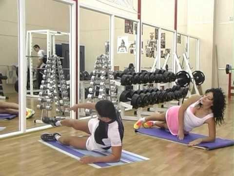 зарядка № 18упражнения для плоского живота и тонкой талии