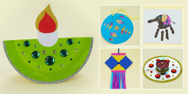 EYFS Diwali Craft Activities With Accompanying Planning Pack - eyfs, diwali, craft