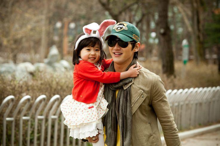 """Choi Si Won & Kim Yoo Bin (as Sung Ye Eun 'Min Woo's daughter') in """"Oh! My Lady series"""""""