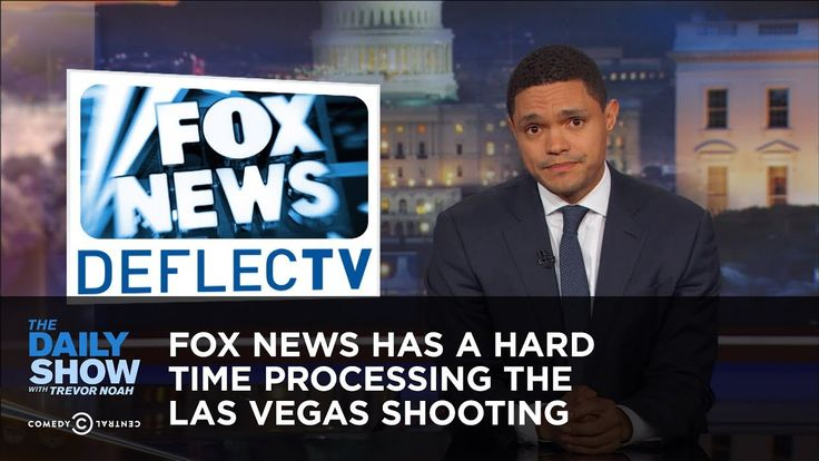 Fox News Has a Hard Time Processing the Las Vegas Shooting: The Daily Show. Destroys Hannity Delusional