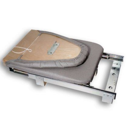 Qline Retractable Ironing Board: Home & Kitchen 87$