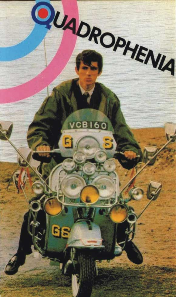 Phil Daniels as Jimmy Micheal Cooper in Quadrophenia, my all time favorite movie
