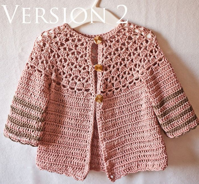 Crochet Child Cardigan Pattern : 17 Best images about haakwerk : vest/bolero/shrug on ...