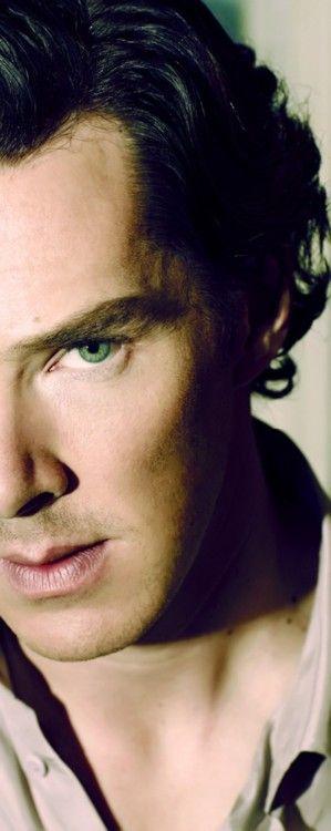 Benedict Cumberbatch aka Sherlock Holmes, I love his character, very brilliant spin on Sherlock Holmes.