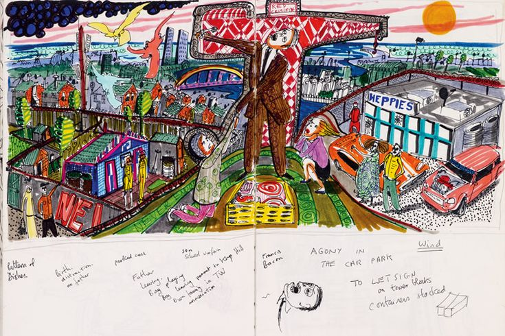 Grayson Perry — Sketches