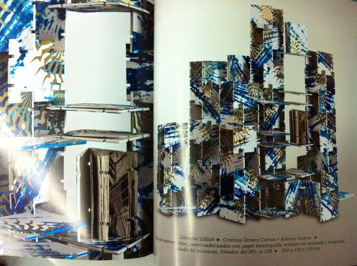 La publicación del catálogo de Artesano entre Artista 3.0. Fotografía del lililab (libro_librero_laberinto)