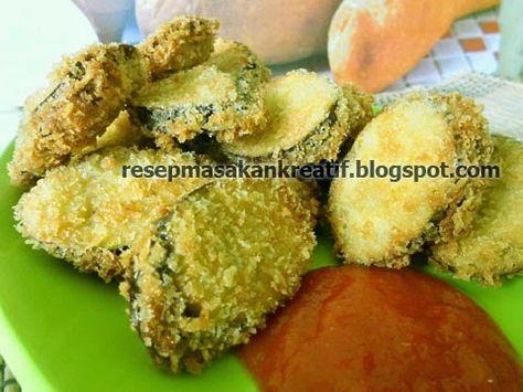Resep Terong Crispy Goreng Tepung - Resep Masakan Indonesia