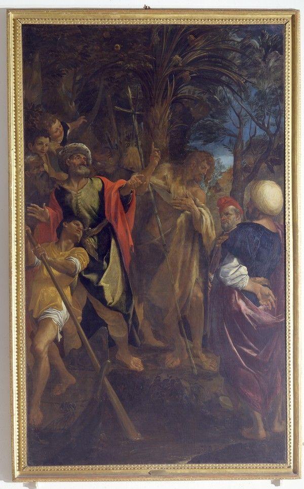 Ludovico Carracci - Predica del Battista