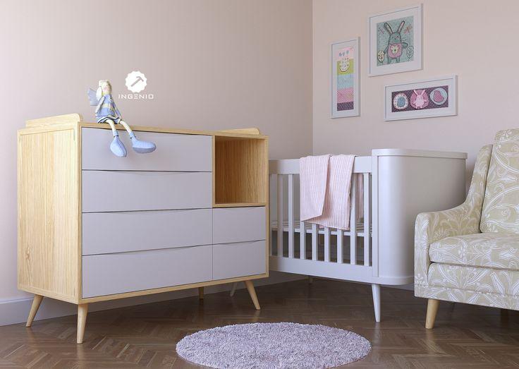 15 best DORMITORIO BEBÉ images on Pinterest | Bedroom, Cot and Baby ...