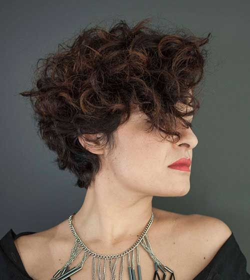 Best 10+ Short curly hair ideas on Pinterest Curly short - Asymmetrical Hairstyles