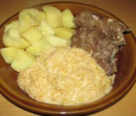Recept Závitky z roštěné s kysaným zelím po selsku od Sprcholka - Recept z kategorie Hlavní jídla - maso