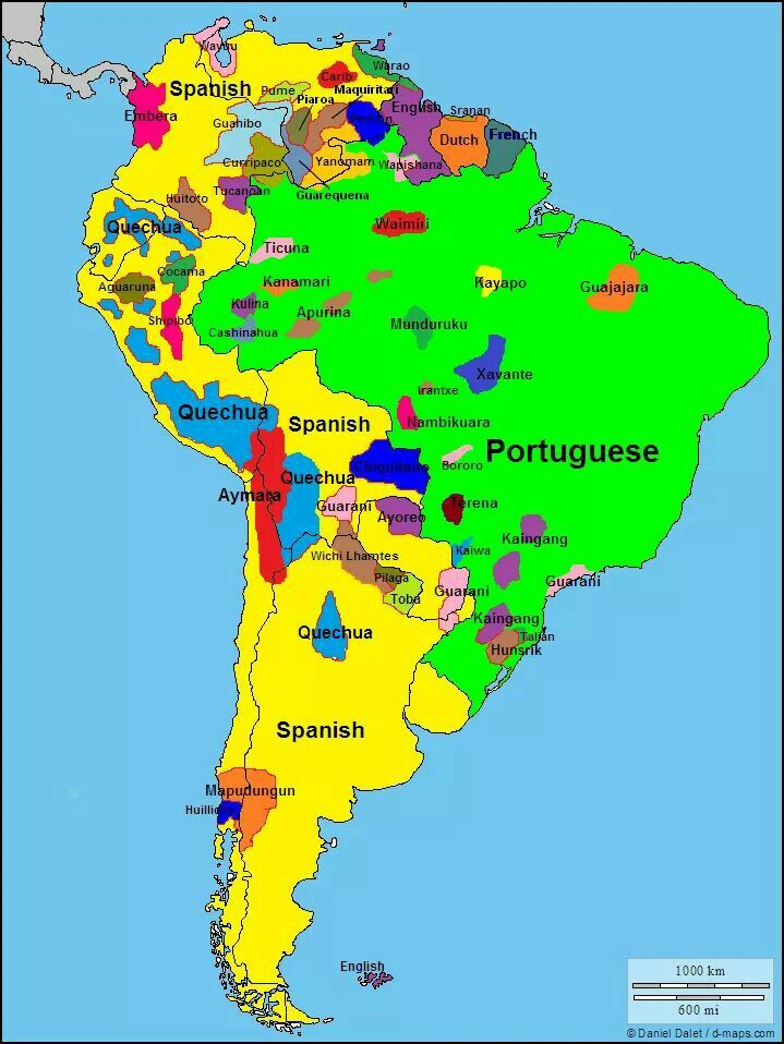 languages of south america interesting spots of small local languages indigenous