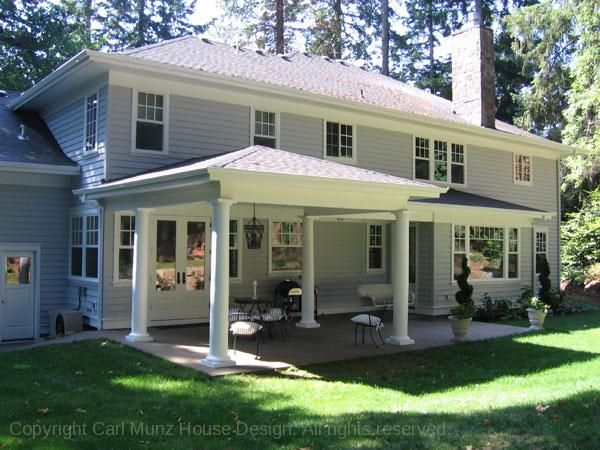 Back porch designs is one of the home design images that Covered porch house plans