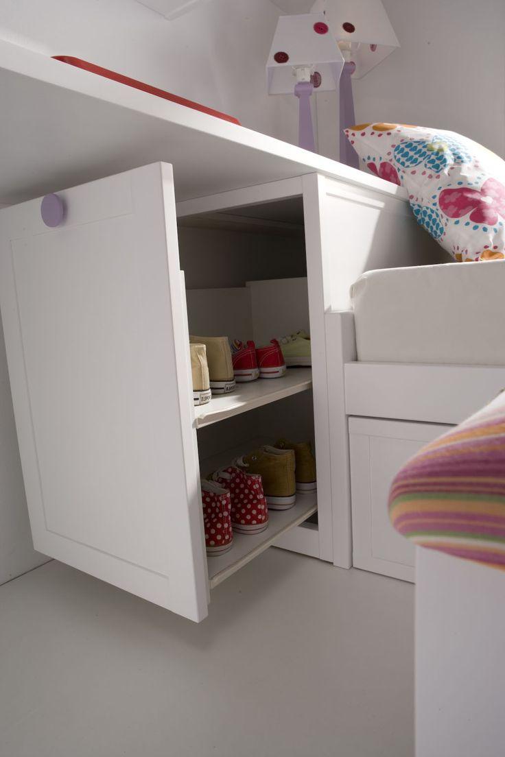 M s de 25 ideas incre bles sobre dormitorios juveniles en - Ver habitaciones infantiles ...