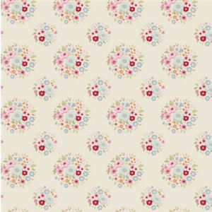 Tilda Sweetheart Fabric Thula Red