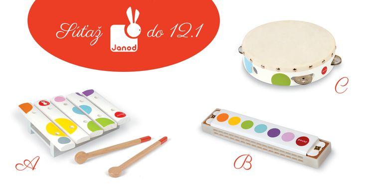 Stále súťažíte o krásne hudobné nástroje značky JANOD! https://www.facebook.com/hrackyJanodSlovensko/posts/958690144219220