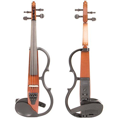 Yamaha SV-130 Series Silent Electric Violin - Instrument Only Brown Instrument Only * Check out the image by visiting the link.