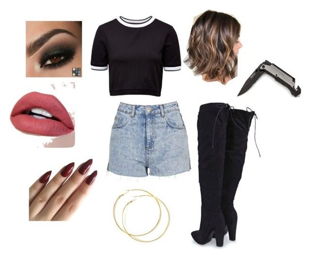 """Sola Becky G inspired Outfit"" by jetixenterment ❤ liked on Polyvore featuring Topshop, Boohoo, French Connection, beckyg, Beasters and sola"