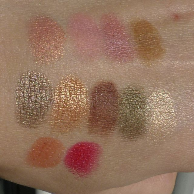 In theBalm of Your Hand, greatest hits vol. 1 - swatches