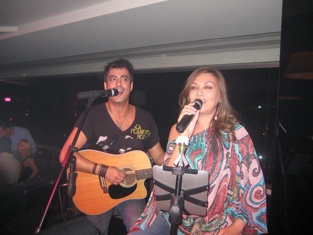Kaiti Garbi  with husband ( Dionisis Skoinas) - Greek Singers