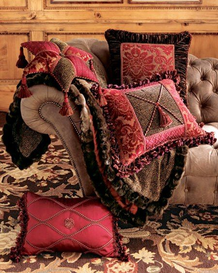 Vintage luxury pillows I Via Luxury Decors