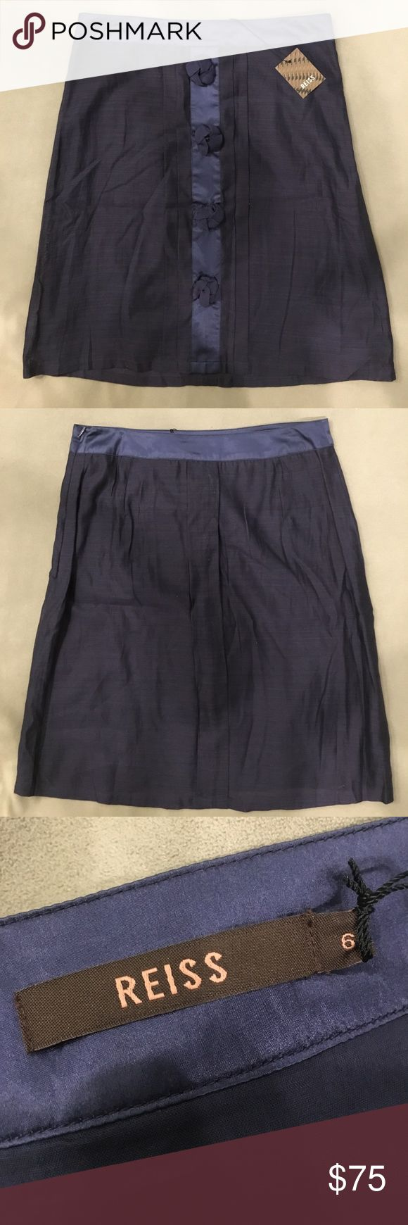 💙 NWT Reiss skirt 💙 New With Tags! | Size 6 | Cotton and Silk Reiss Skirts