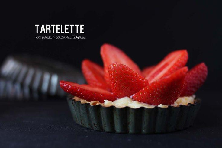Tartelette aux fraises #Strawberry #pie #tarte #fraise #food #cuisine ...